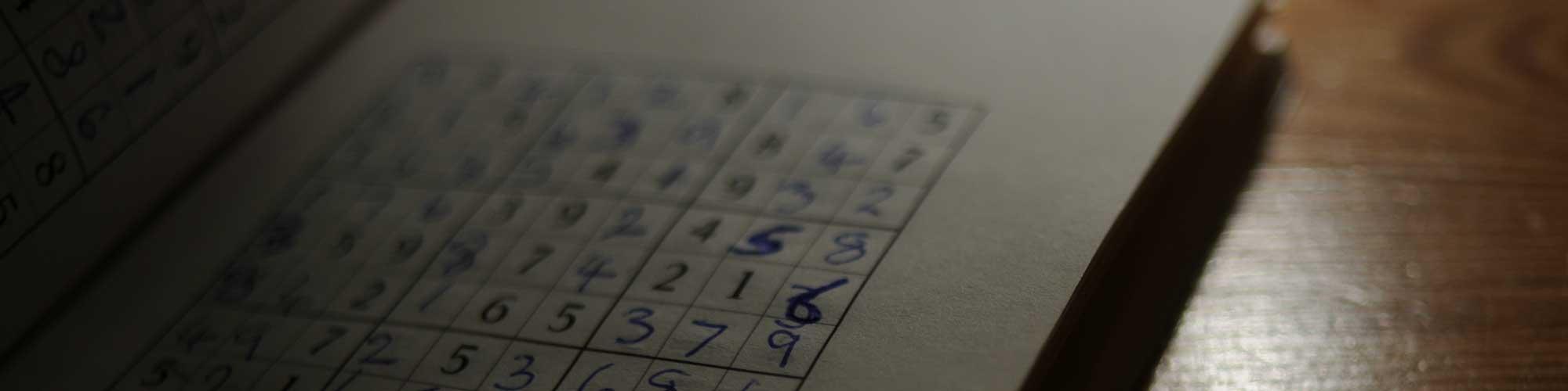 Sudoku header
