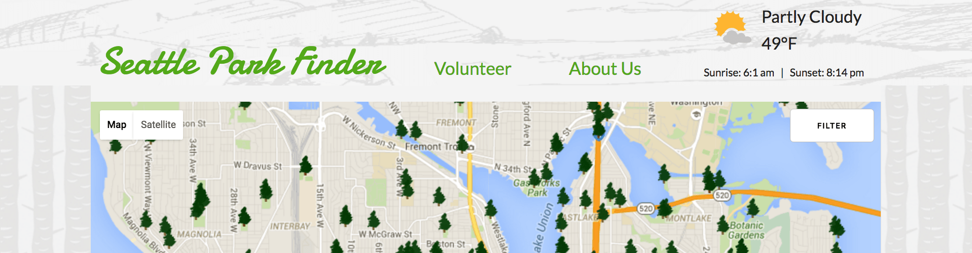 Seattle park finder