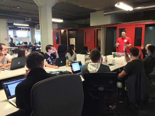 Front-End UX Design & Development Accelerator Day 1