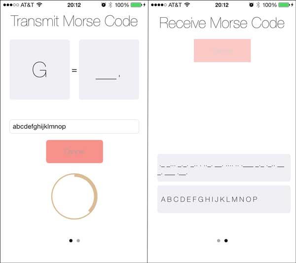 Morse Code App Final