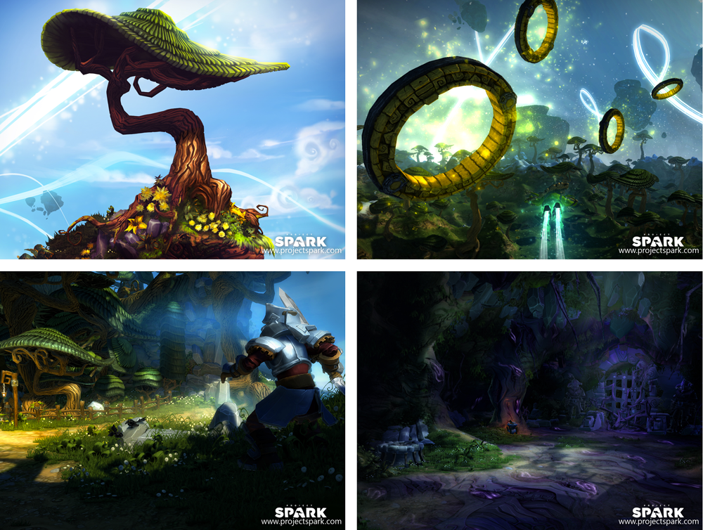 Microsoft Studios' Project Spark leads the way for user