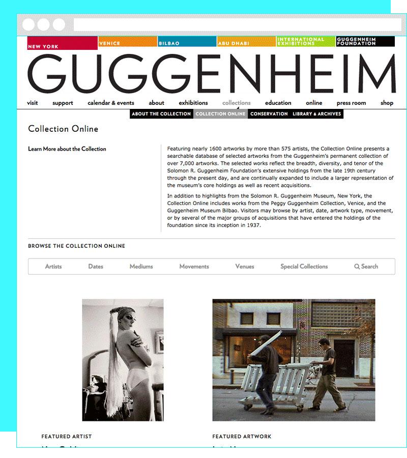 Guggenheim UI