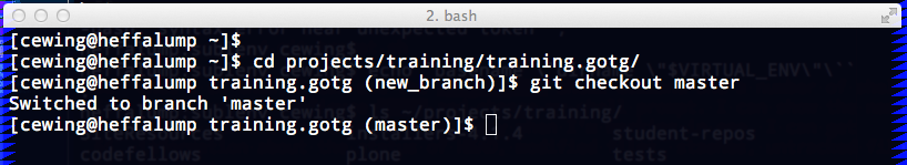 Simple Bash Prompt